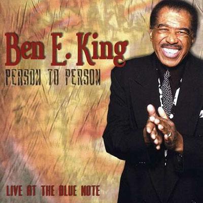 Ben E King CD Cover - Person to Person